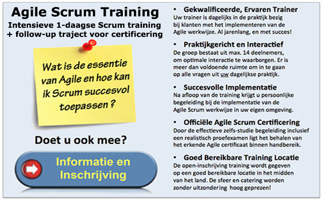 Scrum Training Nederland